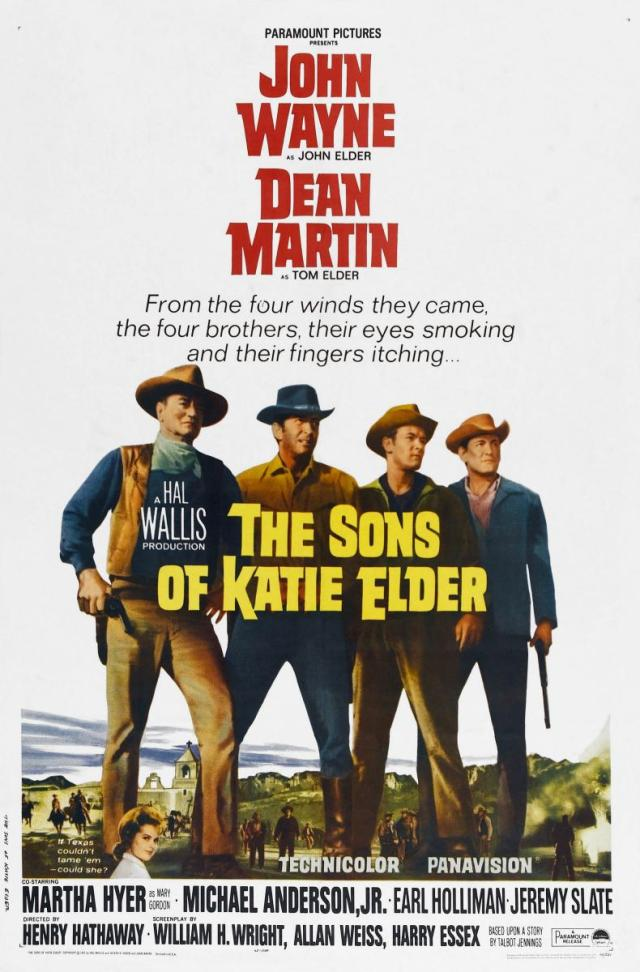 The Sons of Katie Elder (1965) filminin afişi