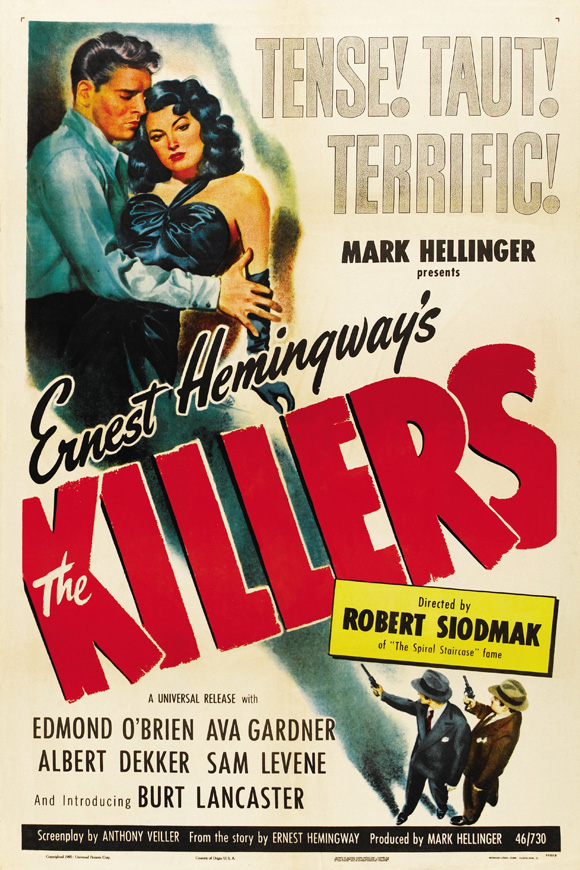 The Killers (1946) filminin afişi