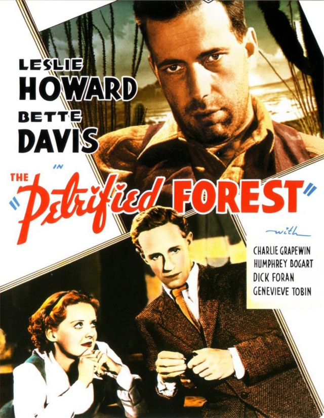 The Petrified Forest (1936) filminin afişi