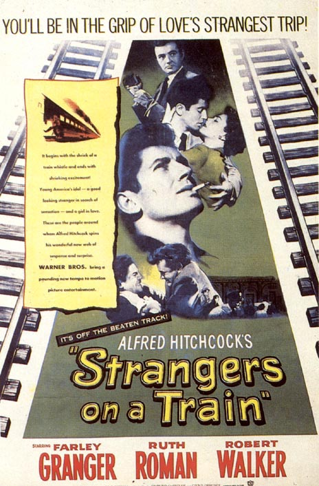 Strangers On A Train (1951) filminin afişi