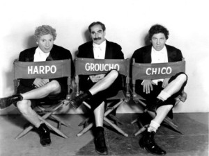 Harpo Marx, Groucho Marx - Chico Marx, A Night at the Opera (1935) filminde