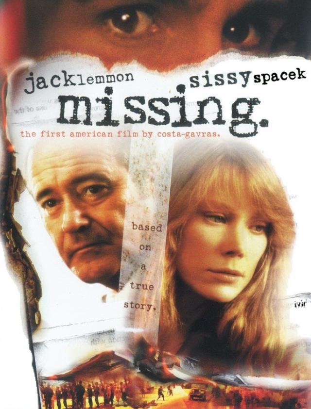 Kayıp - Missing (1982) filminin afişi
