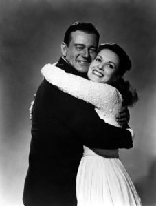 John Wayne ile Maureen O'Hara