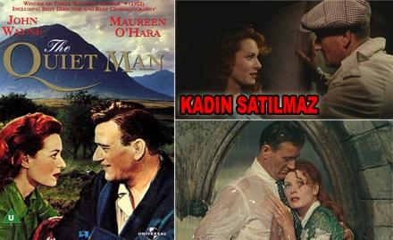 Kadın Satılmaz - The Quiet Man (1952) 720p filminin manşeti